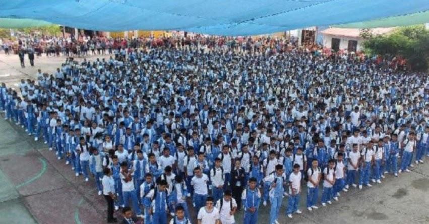 Por lluvias suspendieron inicio de clases en 87 colegios de los distritos de Macate, Cáceres del Perú y Moro en Áncash