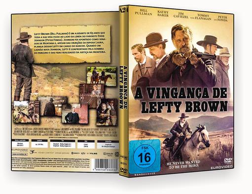 CAPA DVD – A Vingança De Lefty Brown DVD-R