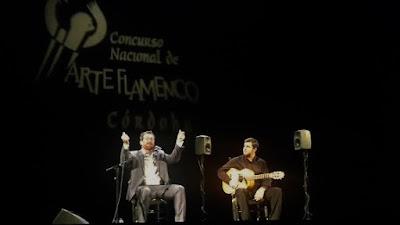 """11 de noviembre de 2016, Félix Crujera """"El Sevillano"""" en el Concurso Nacional de Arte Flamenco de Córdoba - 2016"""