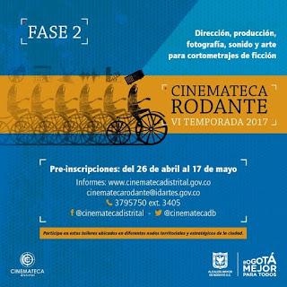 Inscripciones para Cinemateca Rodante 2017 FASE II
