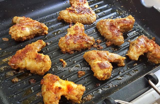 ayam bakar kari, resep ayam bakar khas Indonesia by Amalia Virshania