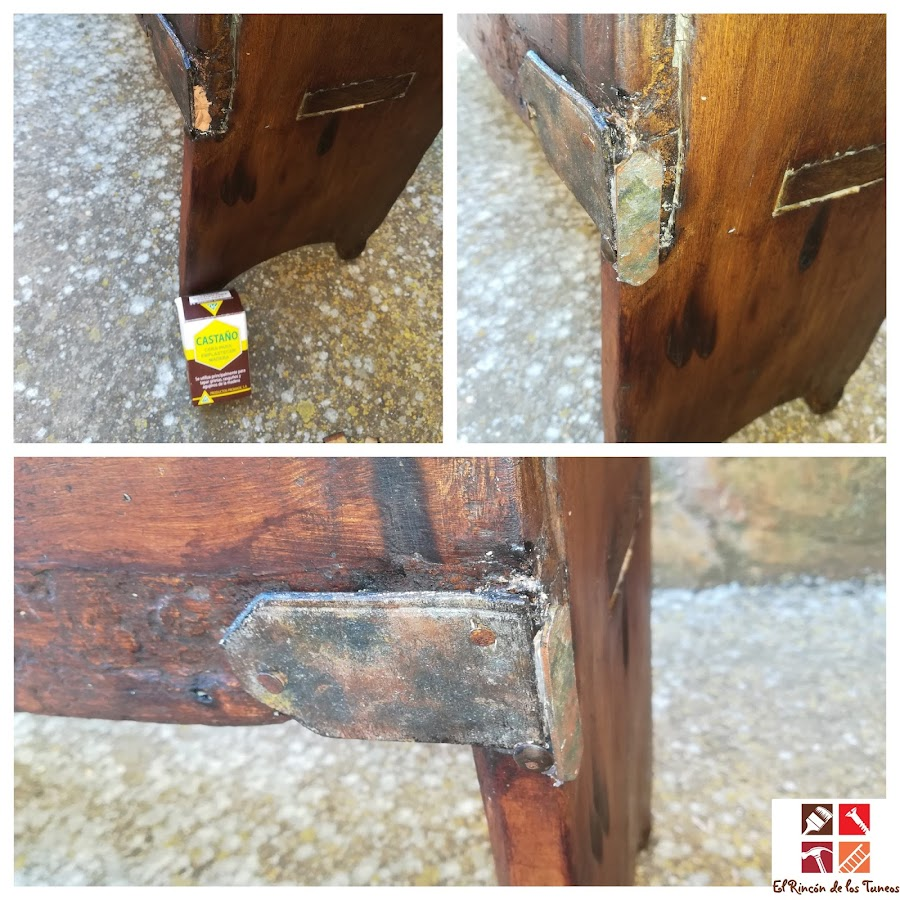 restauración de un hachero