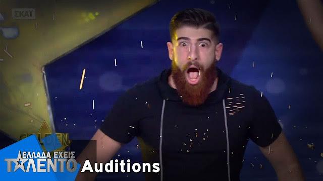 """Ο Rapper Tagma-Νίκος Στρατής από το Ναύπλιο που τρέλανε το """"Ελλάδα έχεις ταλέντο"""" (βίντεο)"""