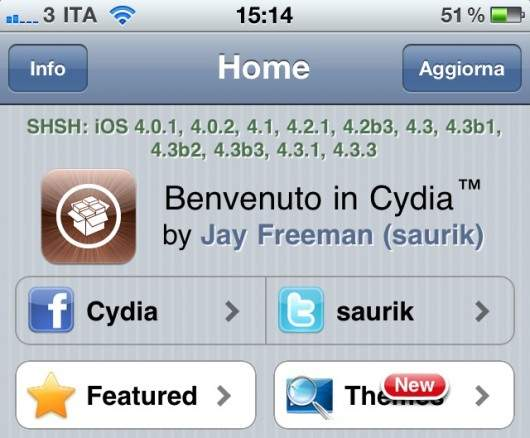 Cydia SHSH Section Fixed By Saurik