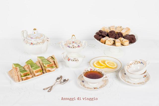 L'afternoon tea inglese