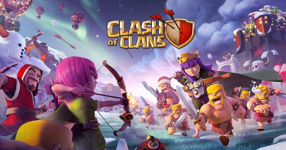 تحميل لعبة clash of clans مهكرة اخر اصدار