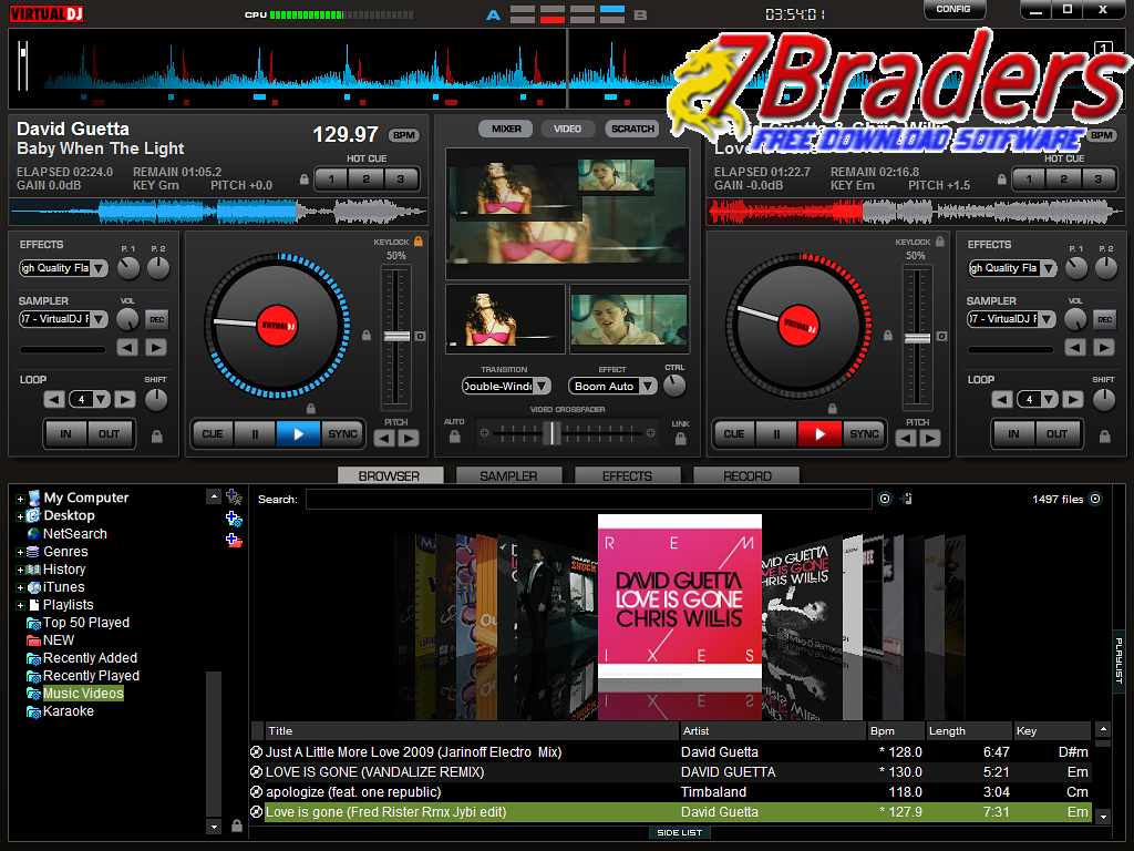 Install virtualdj home v7 4 exe for Virtual home software