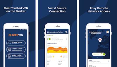 تطبيق OpenVPN Connect – Fast & Safe SSL VPN Client