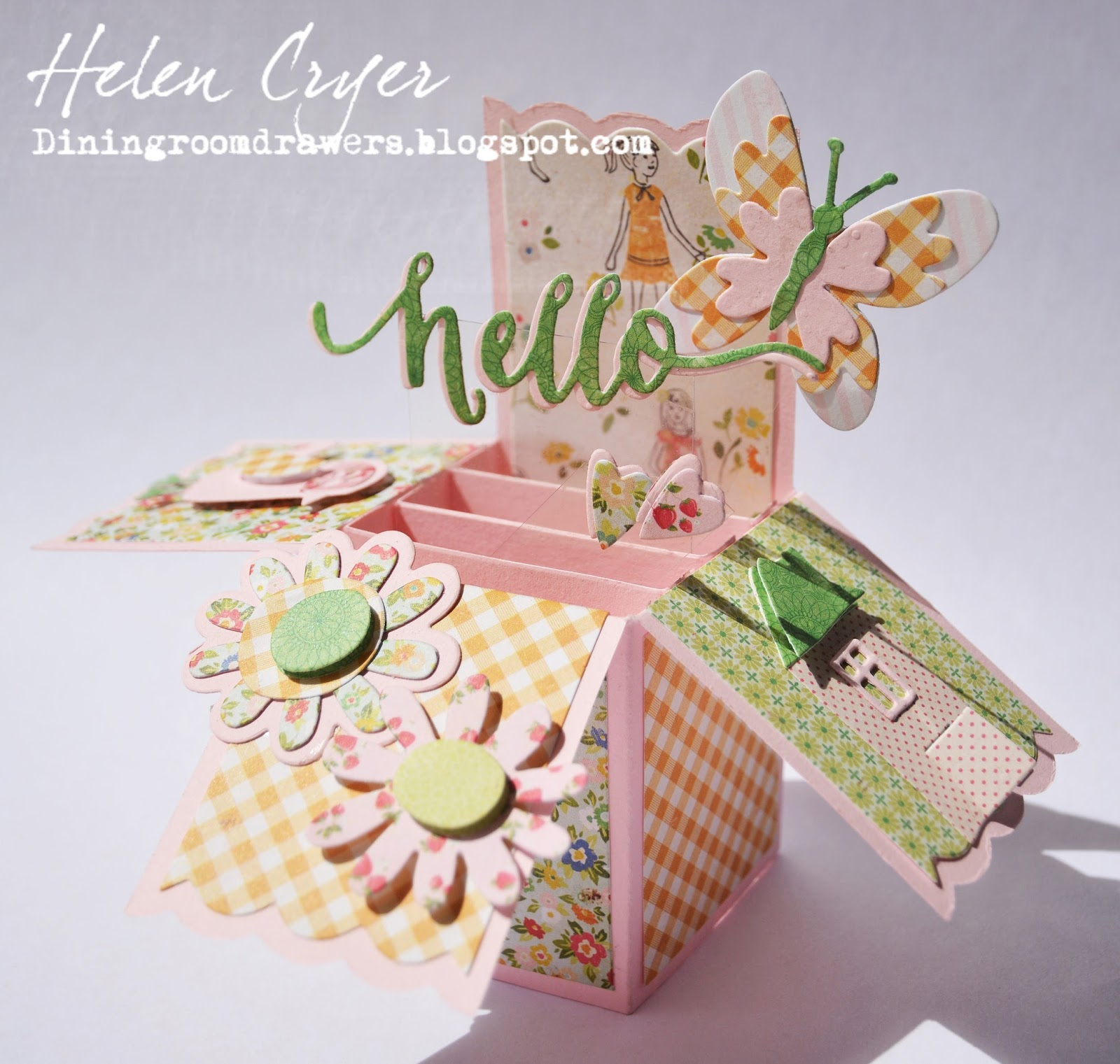 Prächtig The Dining Room Drawers: Sizzix Craft Asylum Dies Card In A Box #KL_44