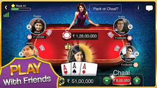 Screenshots of the Teen Patti Gold for Android tablet, phone.