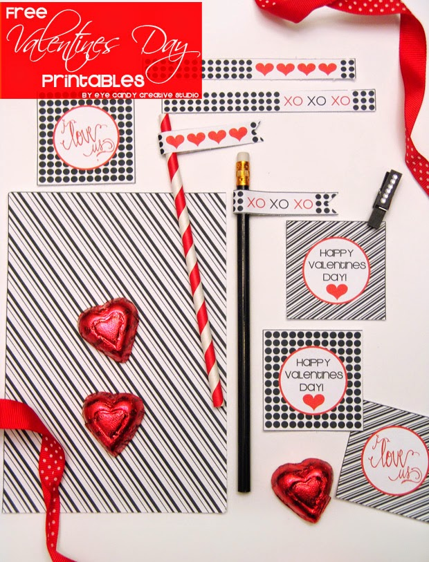 free valentines day printables, black and white, free download, valentines day