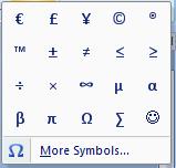 Menyisipkan sebuah simbol merupakan langkah yang cukup sederhana Cara Menyisipkan Symbol di Word