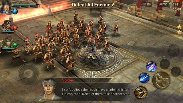 Screenshot Dynasty Warriors: Unleashed