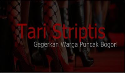 Warga Bogor digegerkan dengan beredarnya foto tarian striptis di Puncak Bogor pada malam tahun baru kemarin.