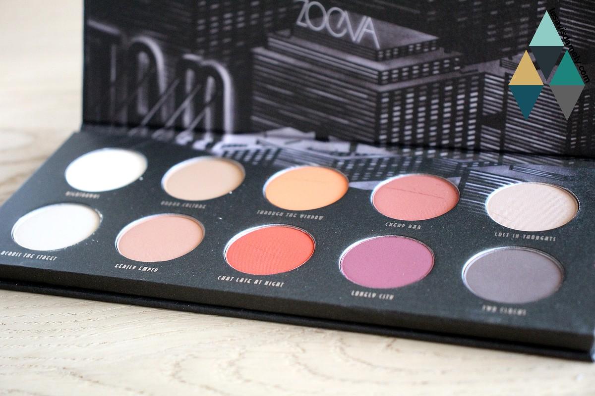 matte palette eyeshadow avis et test