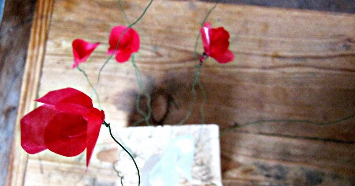 friday crafting freitagsbasteln herzblumen. Black Bedroom Furniture Sets. Home Design Ideas