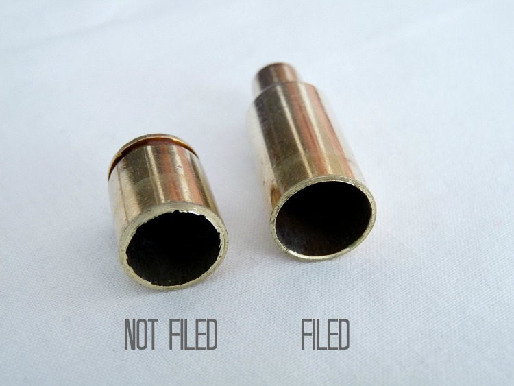 Making jewelry from shell casings