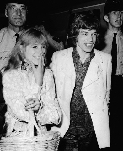 Mick Jagger Amp Marianne Faithfull In 1960s Vintage Everyday
