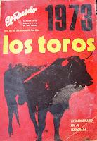 Resultado de imagen de toros temporada de 1973