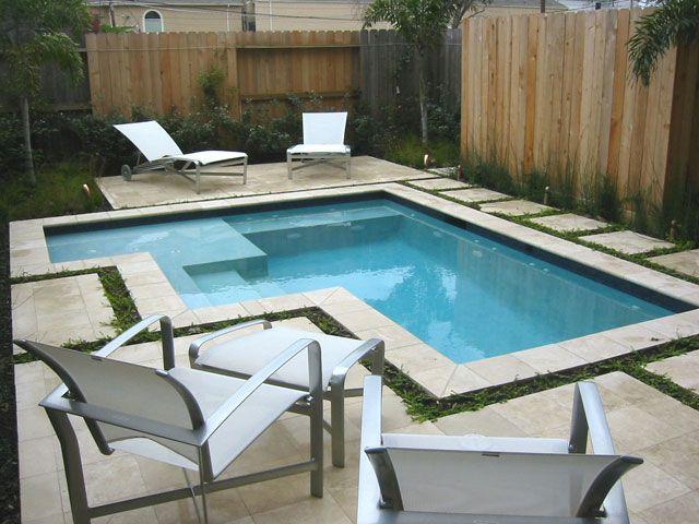 10 piscinas lindas e pequenas decora o e inven o for Ideas piscinas pequenas