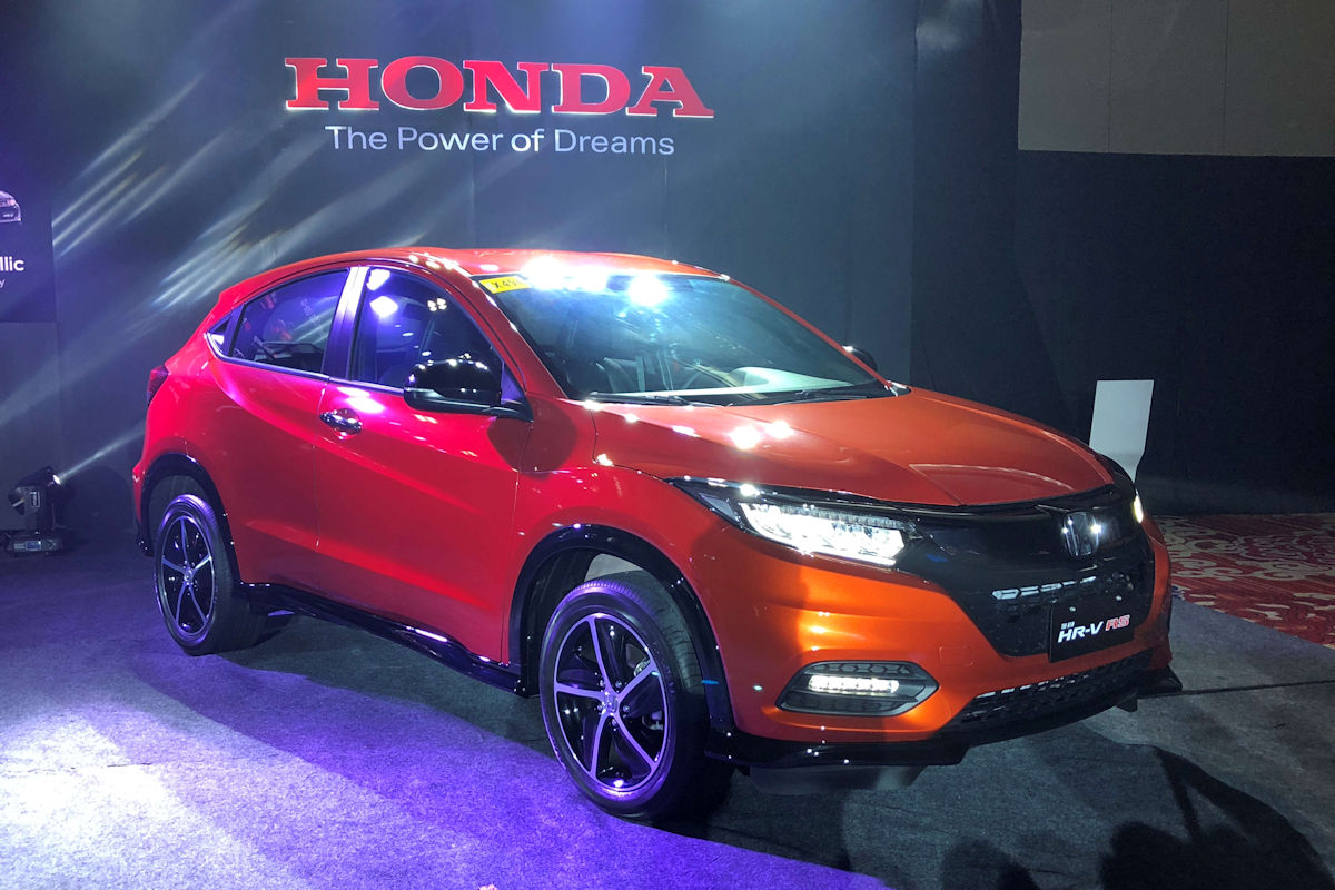 Refreshed 2018 Honda Hr V Arrives In The Philippines W 15 Photos