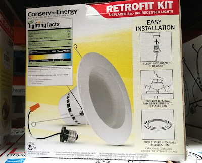 Feit Dimmable LED Retrofit Kit - great for wet and damp areas like the bathroom