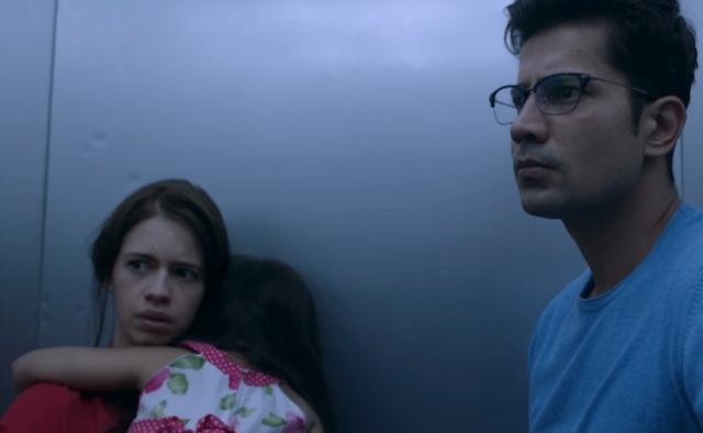 Ribbon, Kalki Koechlin and Sumeet Vyas, elevator scene