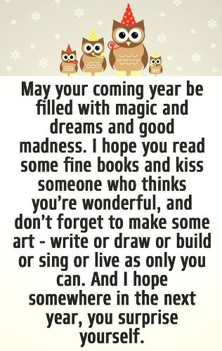 Happy New Year Quotes 2018, Funny Sayings, Messages Inspirational