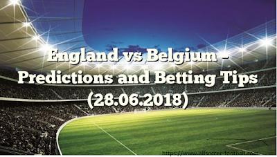 World Cup Predictions 2018 England vs Belgium
