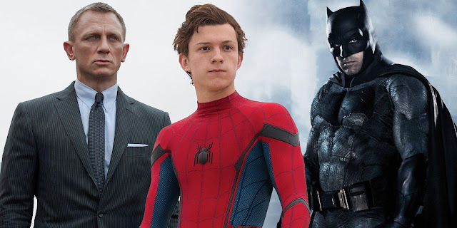 Tom Holland James Bond Batman