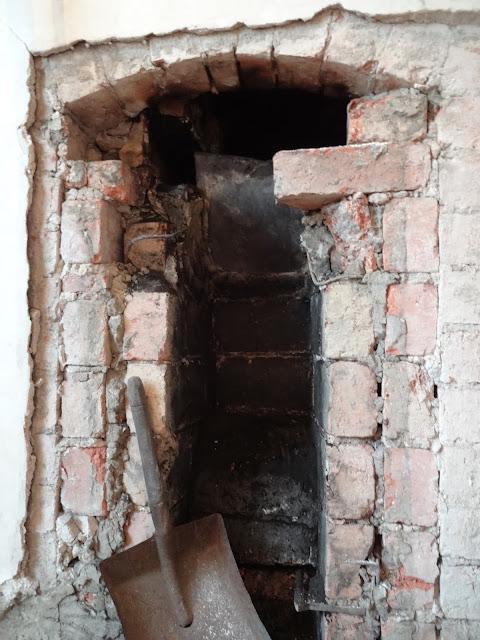 victorian chimney opening