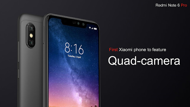 Xiaomi Redmi Note 6 Pro Quad Camera