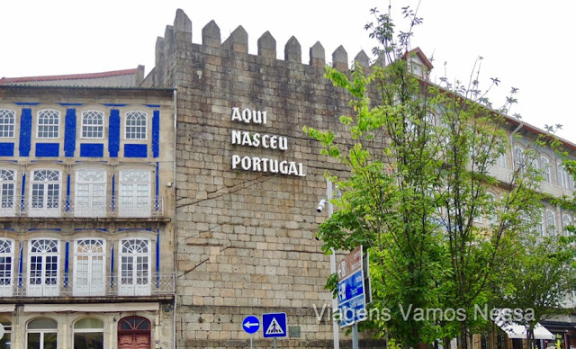 Guimarães, o centro histórico da cidade é uma das jóias históricas mais belas de Portugal