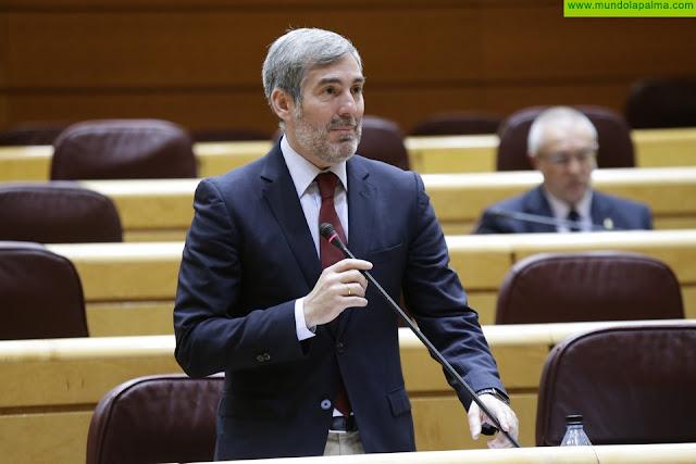 Clavijo vuelve a solicitar la comparecencia urgente de cinco ministros para que informen sobre la situación migratoria