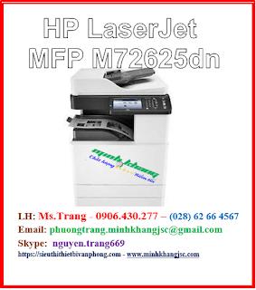 máy in đa chức năng HP Laserjet mfp m72625dn chính hãng giá tốt nhất