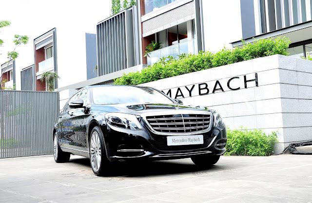 Mercedes Maybach S500 trang bị nhiều công nghệ hàng đầu nhất trên thế giới