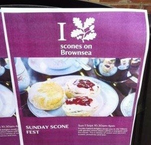Brownsea Island Sconefest