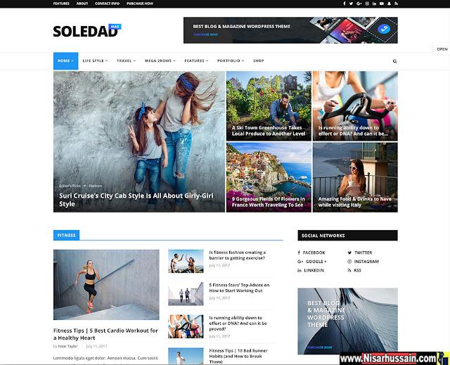 Best Magazine WordPress Premium Theme Free