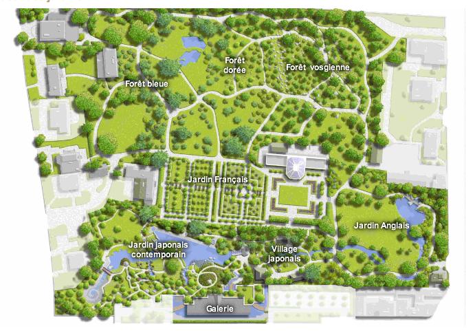 Ma fen tre sur paris jardin albert kahn boulogne for Creation jardin anglais