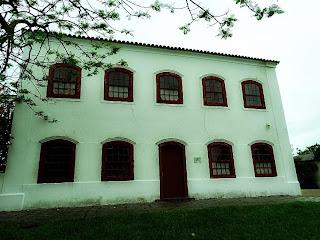 Bento Gonçalves usava o segundo piso do Sobrado  de São Lourenço do Sul para fazer reuniões