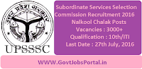 Subordinate Services Selection Commission Recruitment 2016