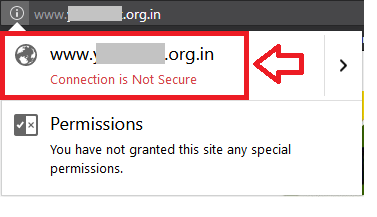 connection-is-not-secure-https