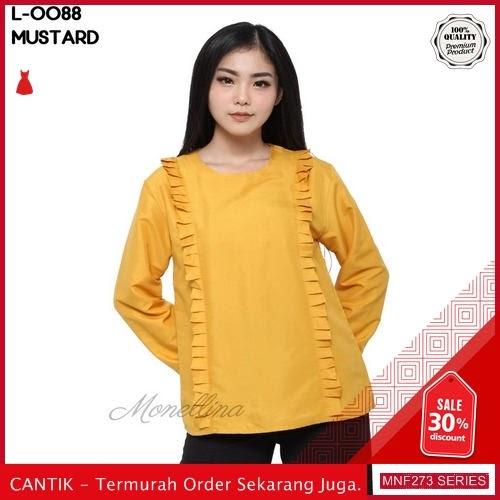 MNF273A88 Atasan L Wanita 0088 Atasan Blouse Baju 2019 BMGShop