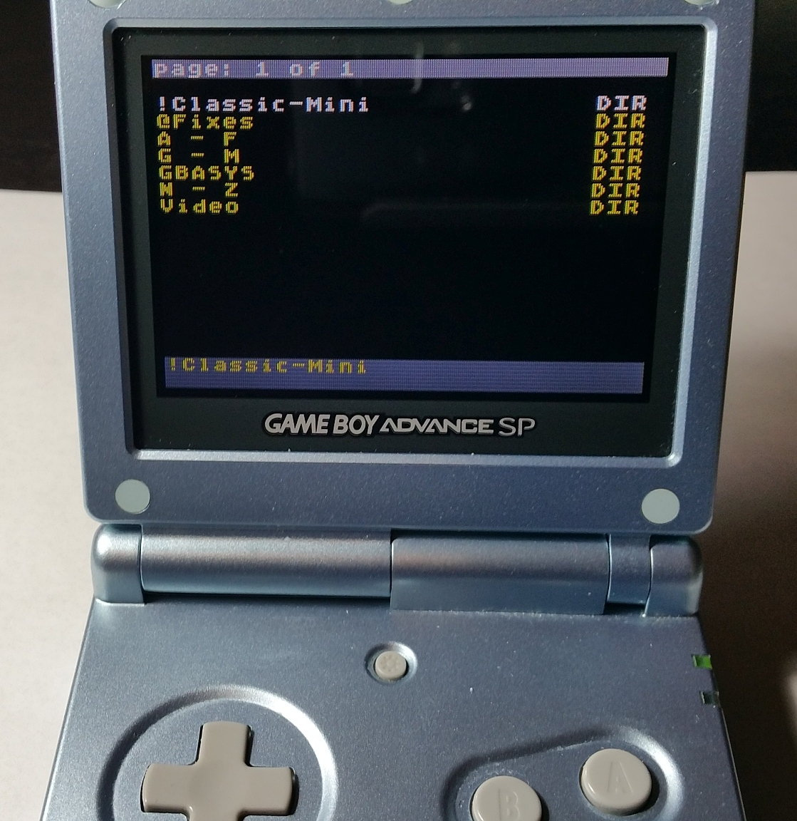 Game boy color everdrive - The Gba X5 Works In Every Official Game Boy Advance Product The Original Sp Frontlit And Backlit The Game Boy Player For The Gamecube The Gba Micro