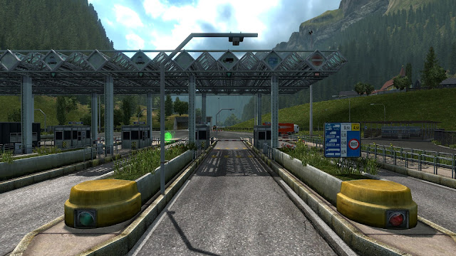 ets 2 automated tollgates in austria & poland screenshots 3