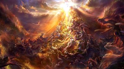 contradição na doutrina do purgatório
