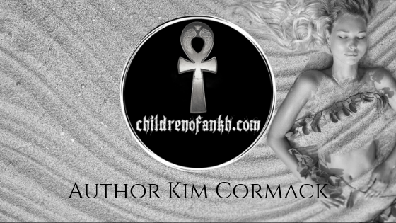 Author Kim Cormack