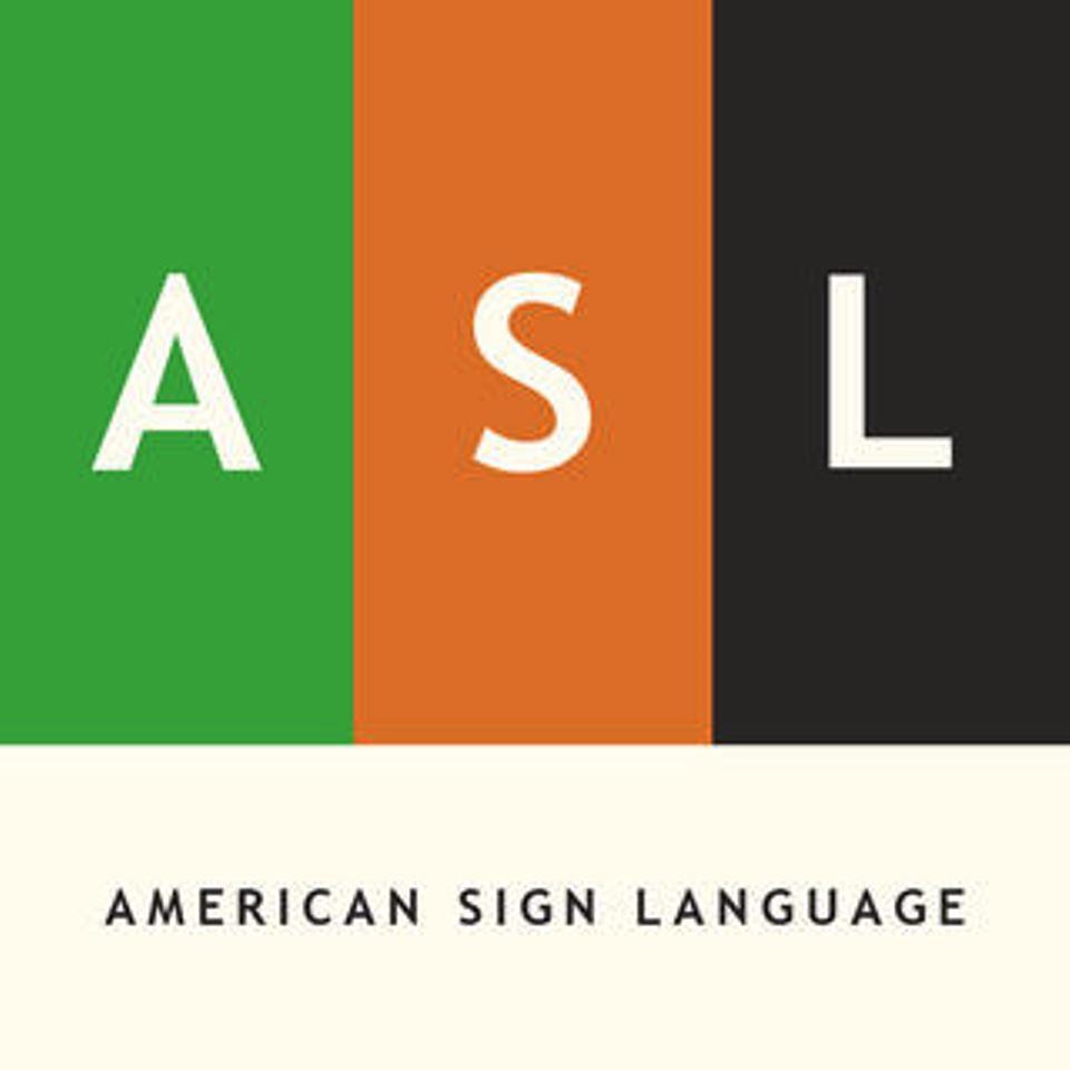American Sign Language Online Job