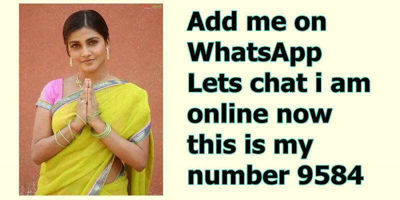 Sex whatsapp number