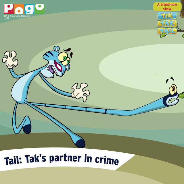'Tik Tak Tail' on Pogo Tv Show Wiki Plot, Characters,Timing,Promo